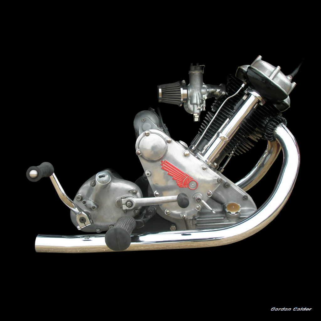 Single Cylinder Engine Grease N Gasoline