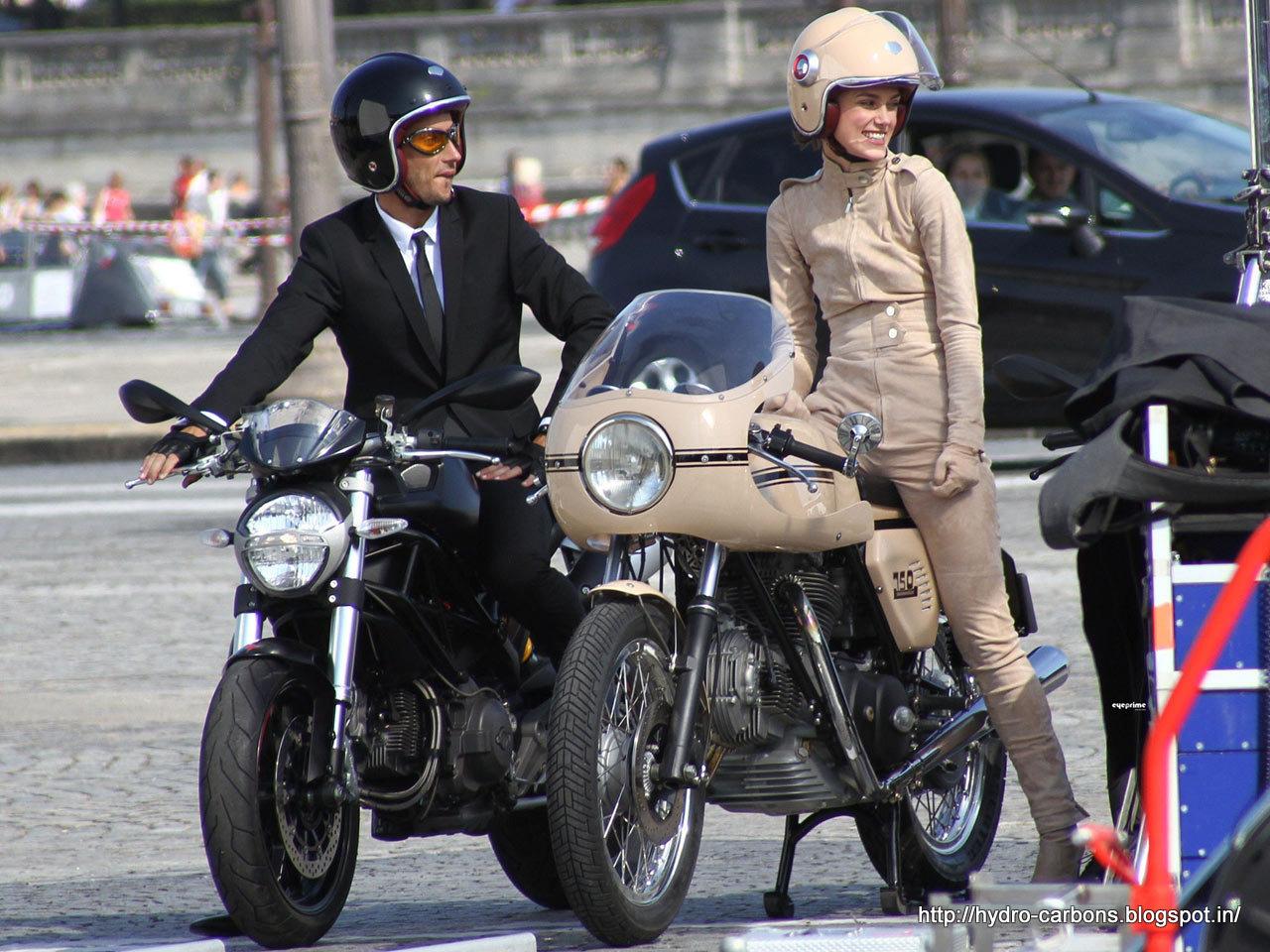 Keira Knightley A Ducati  Sport