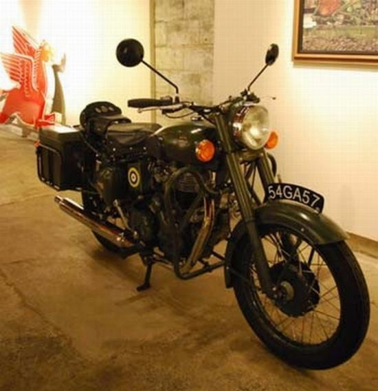 World War 2 Motorcycle