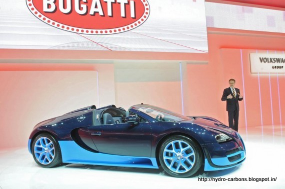 bugatti veyron 16 4 the grand sport vitesse launch the geneva motor show 2012 grease n gasoline. Black Bedroom Furniture Sets. Home Design Ideas