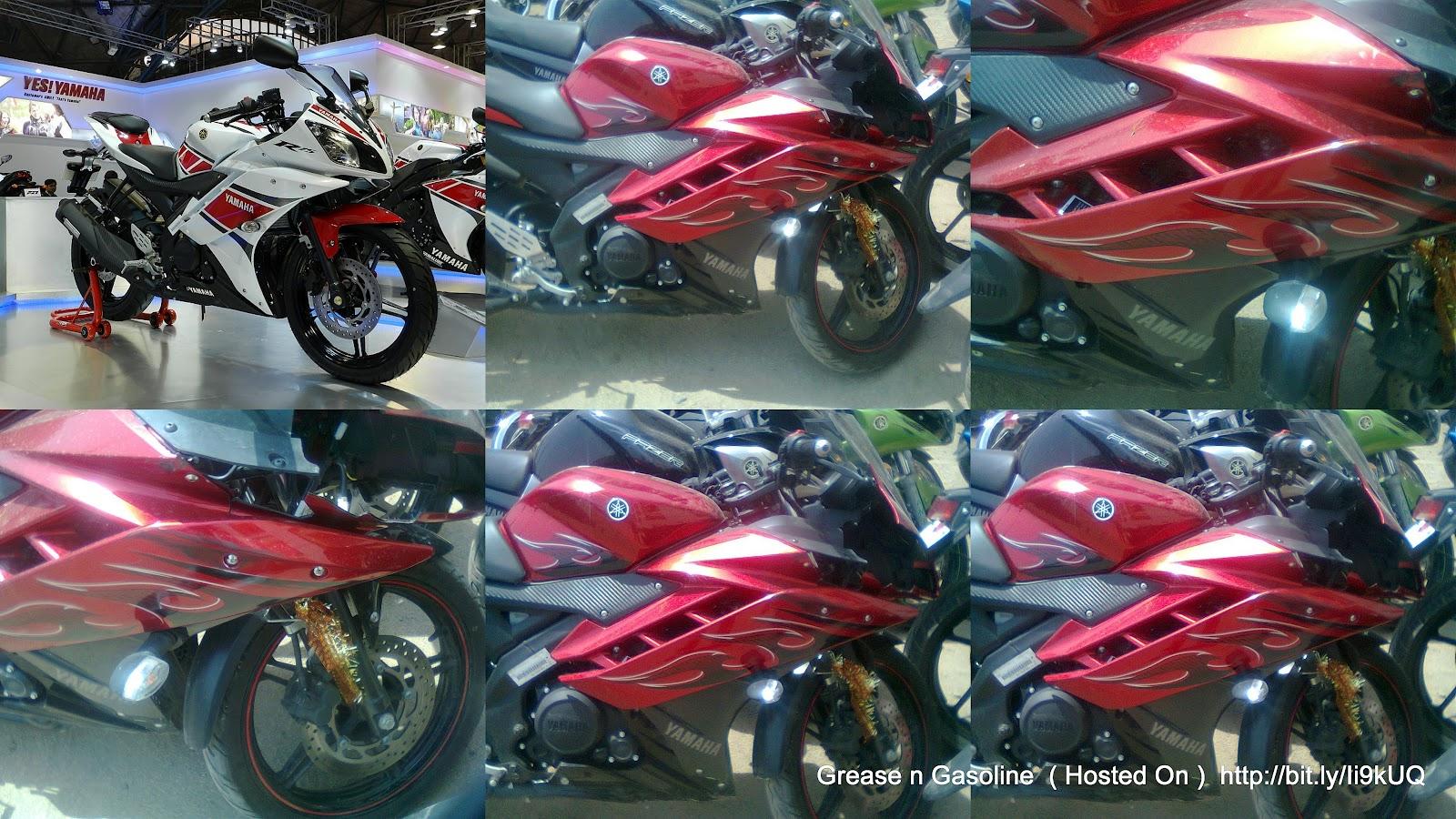 Yamaha R15 Price in India 2012 2012 Yamaha R15 V2.0 Yamaha's