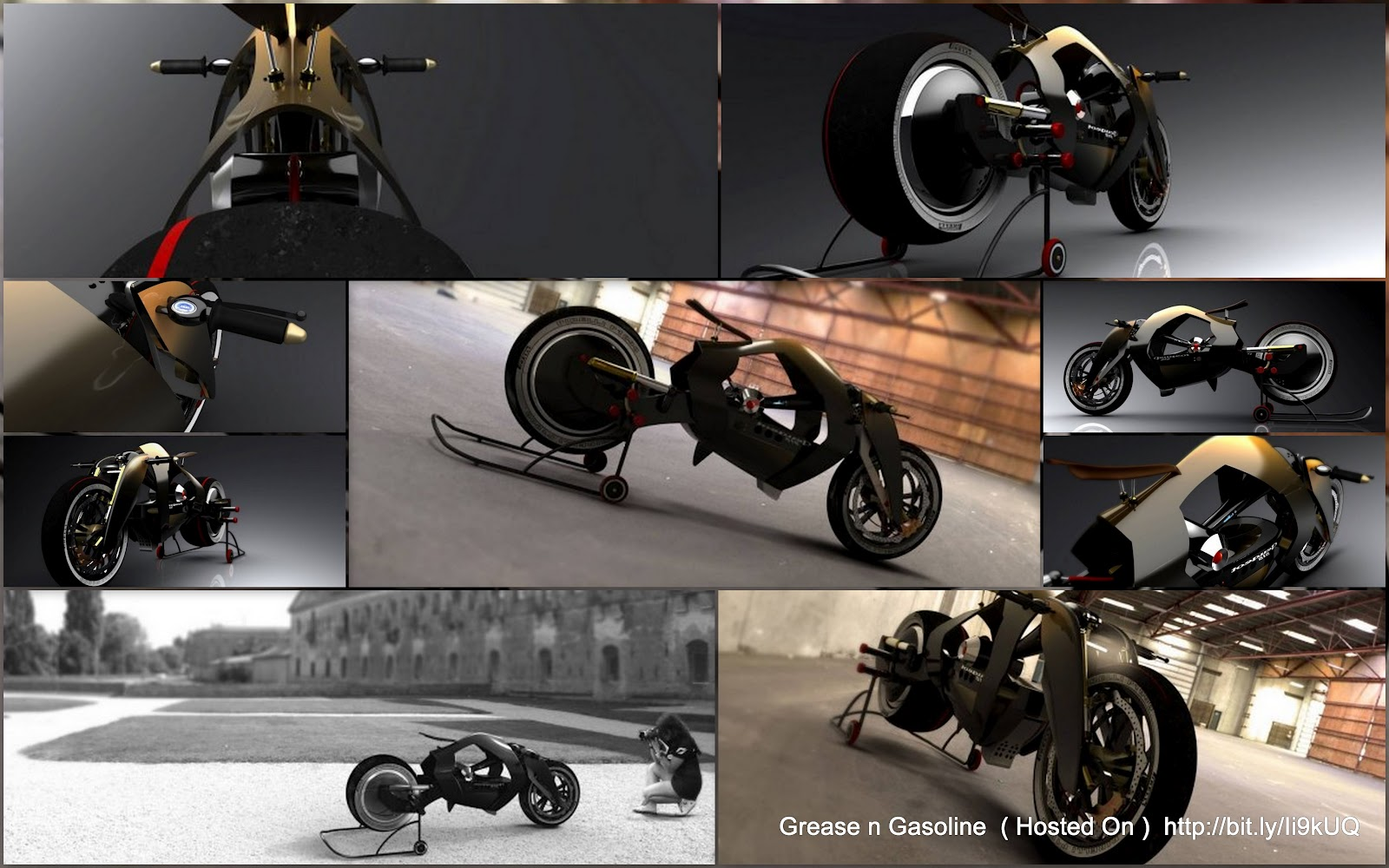 Concept Motorcycle Grease N Gasoline Page 13