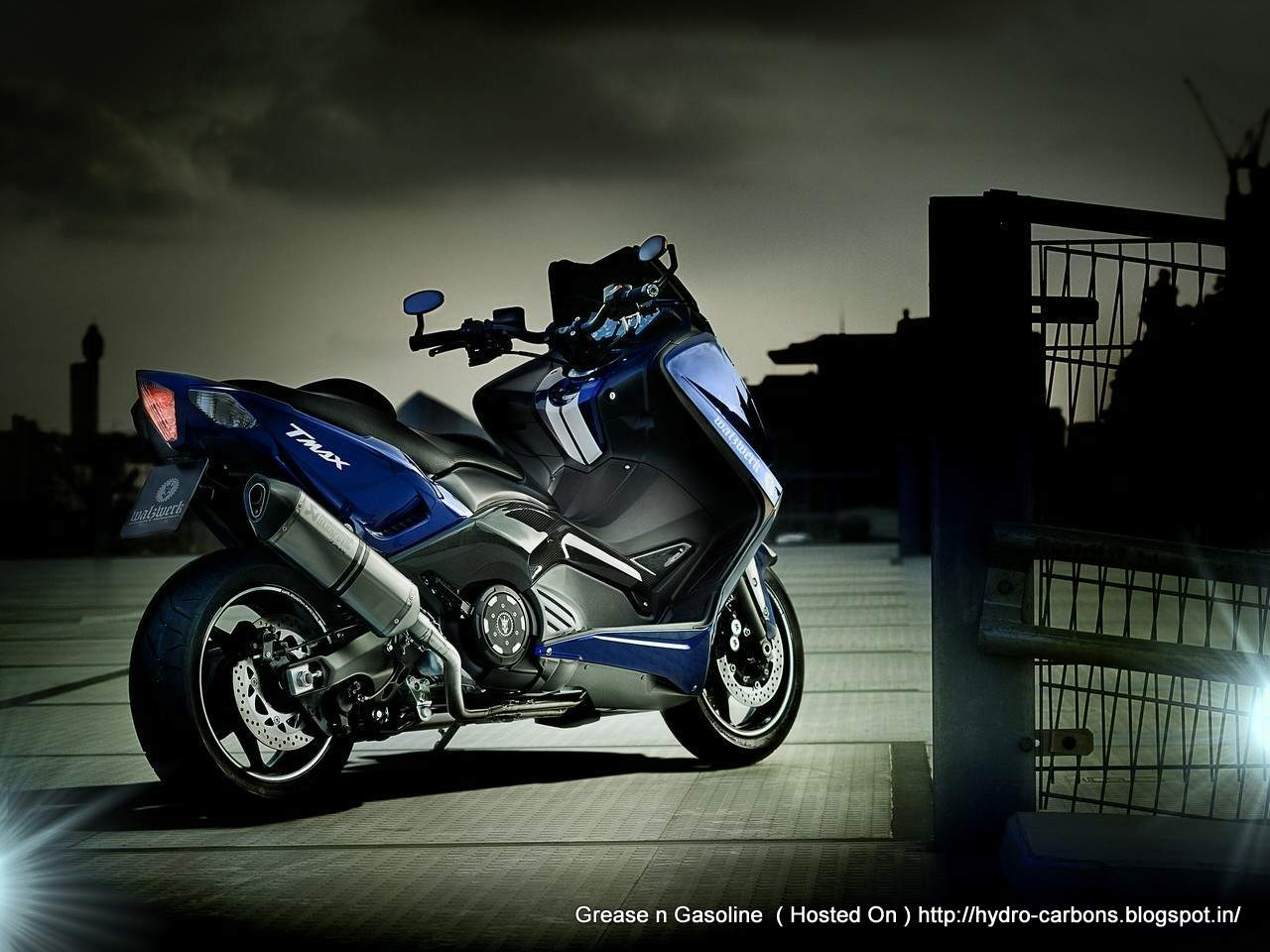 yamaha tmax 530 by marcus walz grease n gasoline. Black Bedroom Furniture Sets. Home Design Ideas