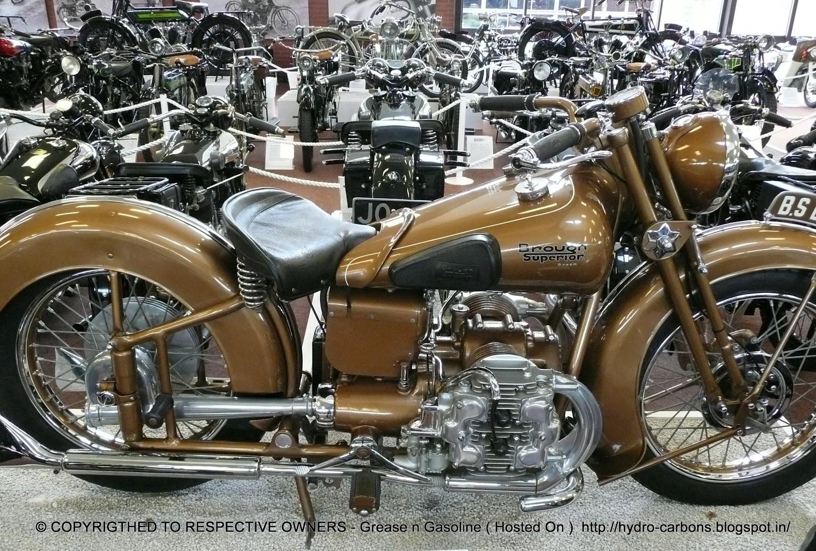 Brough Superior Grease N Gasoline