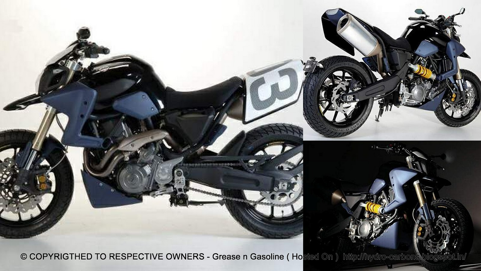 yamaha mt 03 caf motard concept grease n gasoline. Black Bedroom Furniture Sets. Home Design Ideas