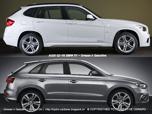 Size difference between audi q3 and q5
