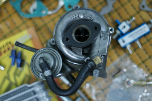 Small Engine Turbo Charger Rhb31 Vz21 Turbo Charger Grease N