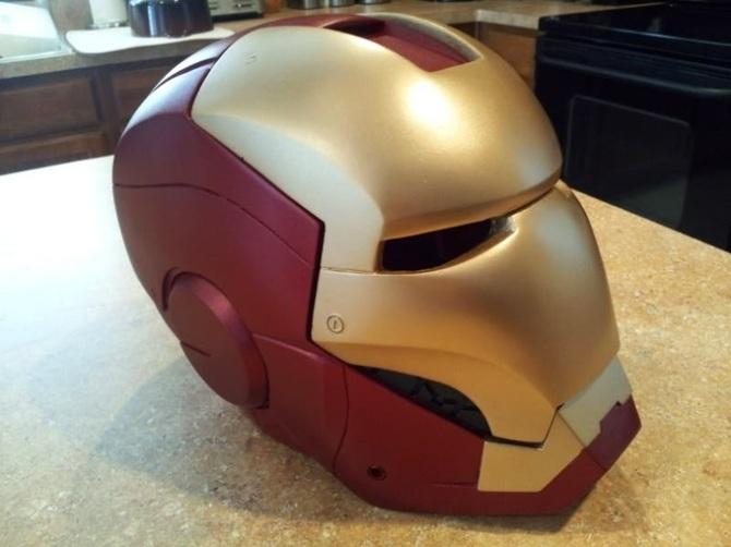 iron man motorcycle helmet grease n gasoline grease n gasoline. Black Bedroom Furniture Sets. Home Design Ideas
